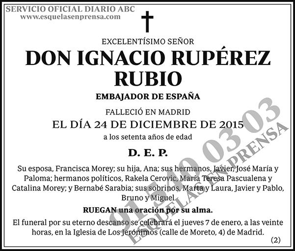 Ignacio Rupérez Rubio